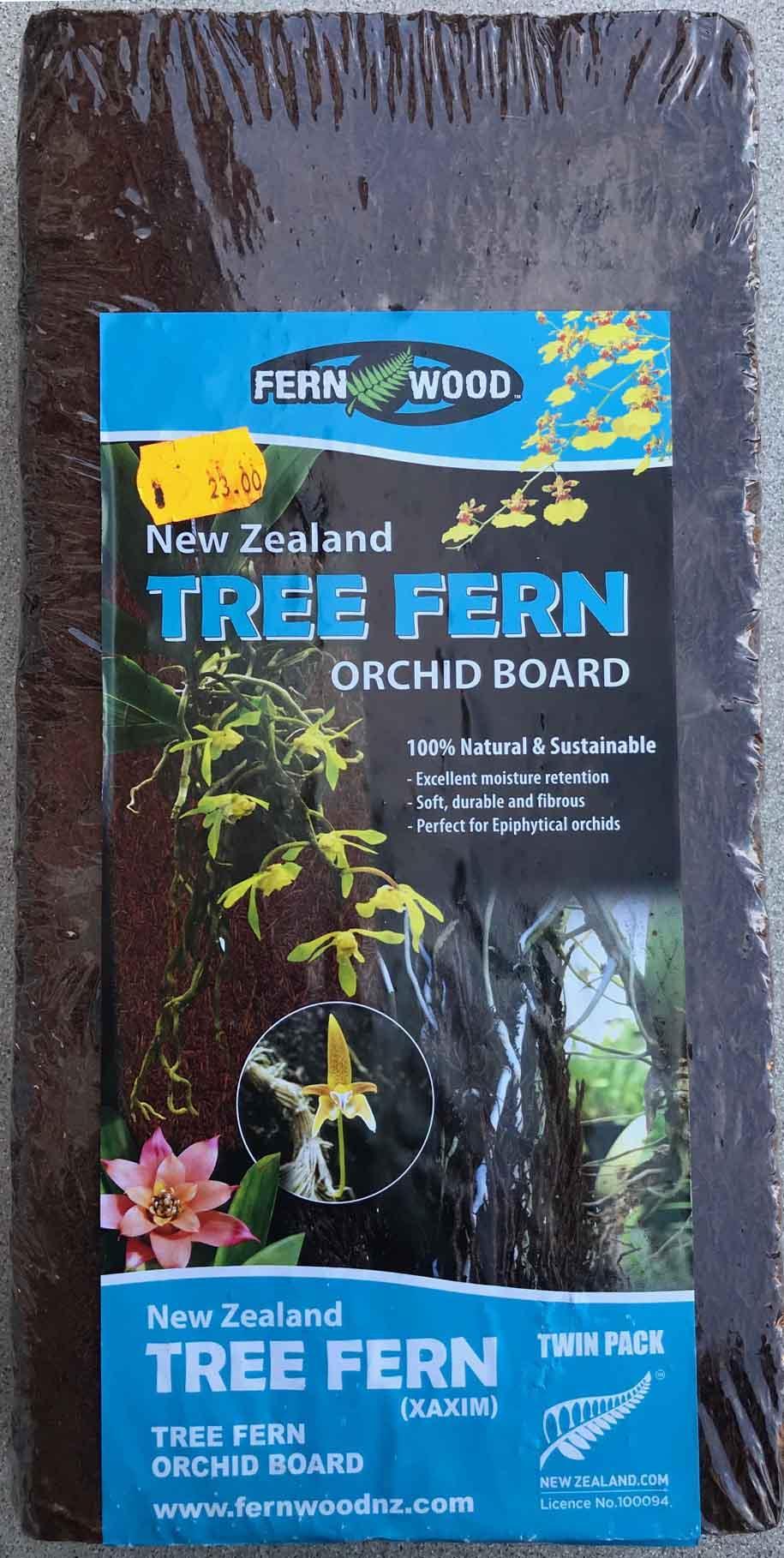 Fernwood Tree Fern plancha 30 x 15 x 2,5 cm pack de 2 unidades