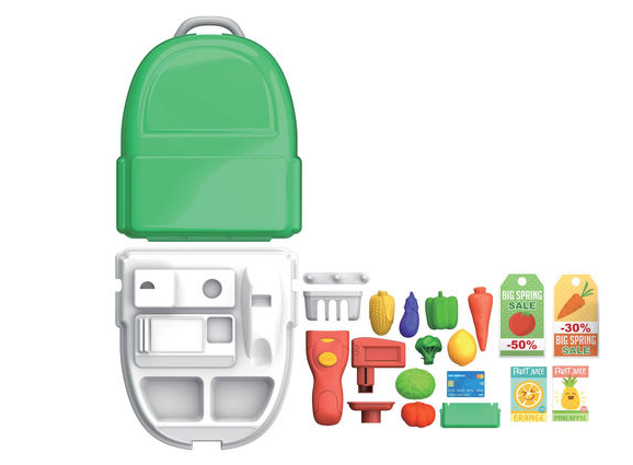 Maletin backpack buys 22 pieces