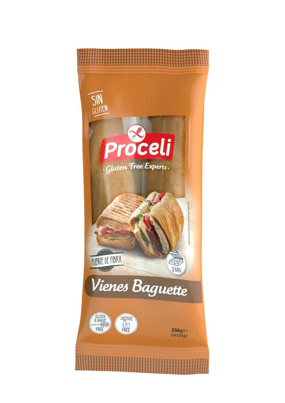 vienes baguette proceli sin gluten