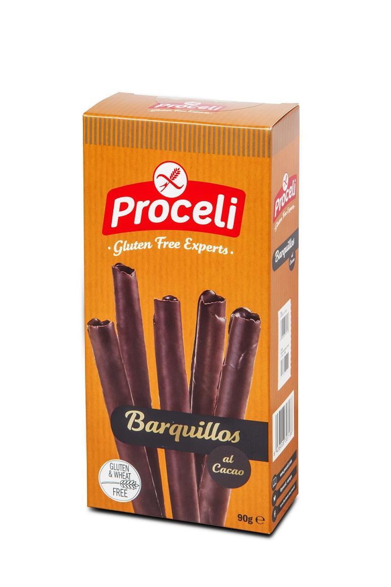 Caja Barquillos al cacao (7u)