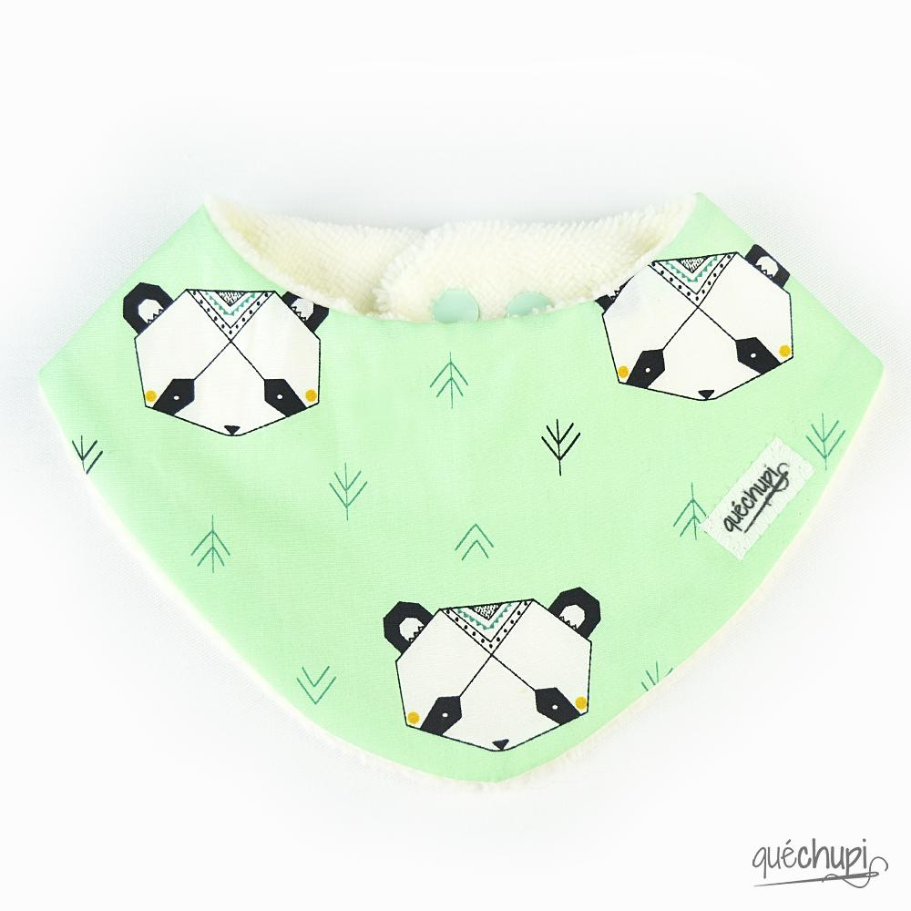 Bandana rizo-bambú oso origami