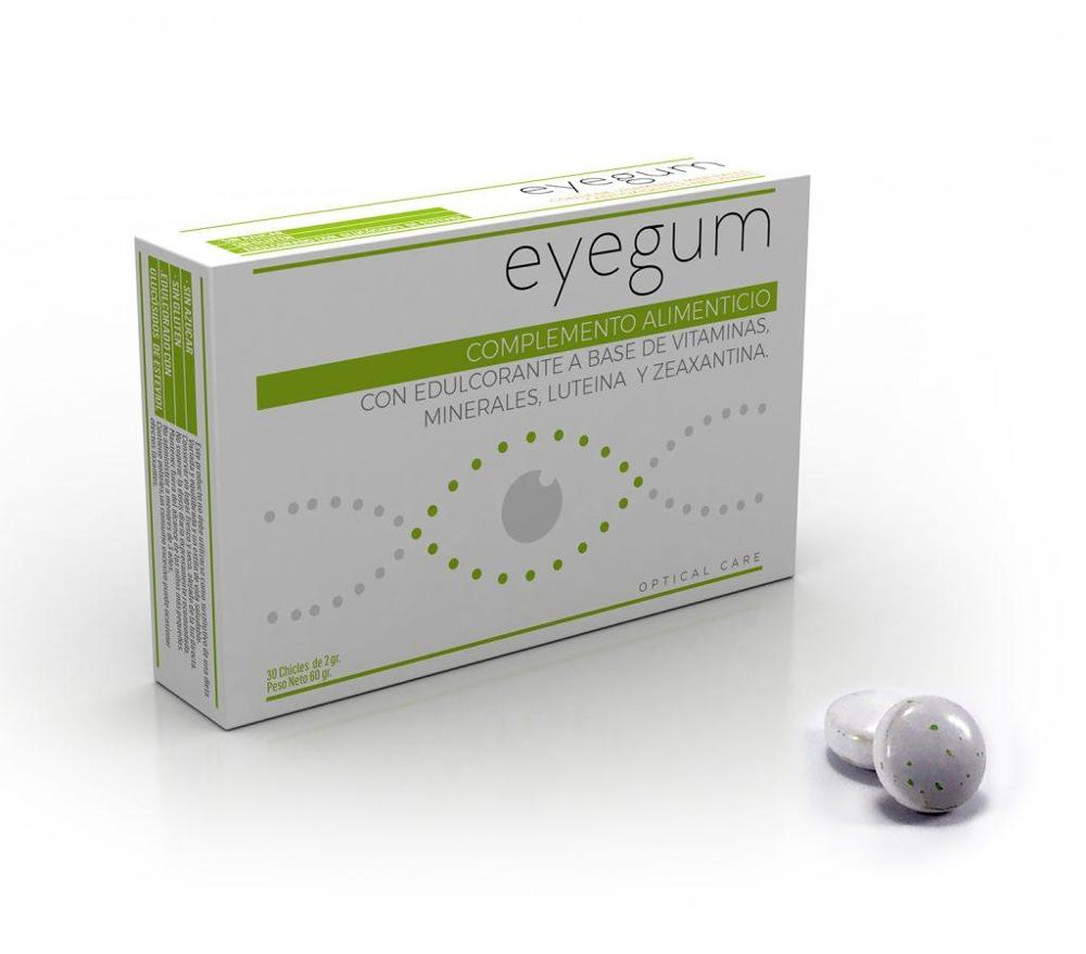 DERM EYES EYEGUM FOR VISION (CHICLE MASTICABLE)