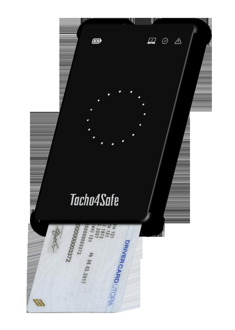 Tacho4Safe lector tarjeta