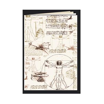 Tassottti Cuaderno A5 Leonardo Grapas