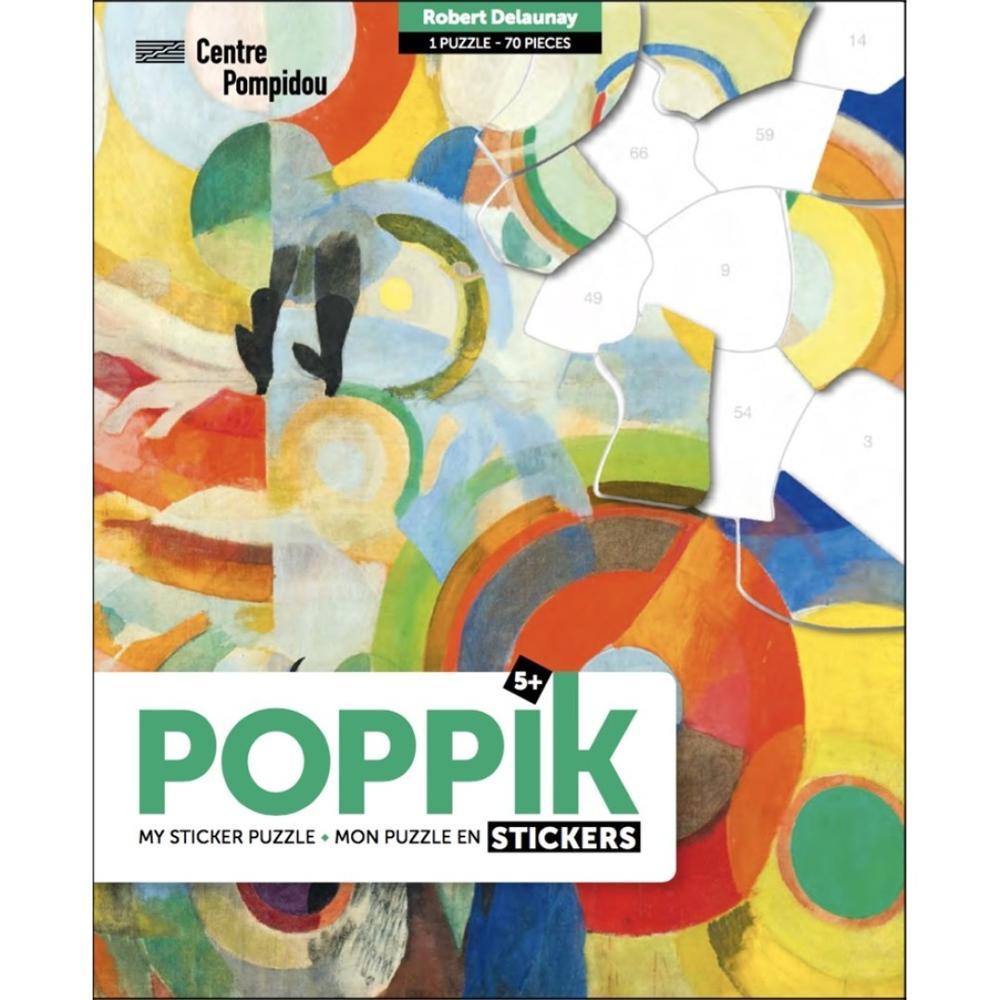 Poppik Stickers Puzzle Arte