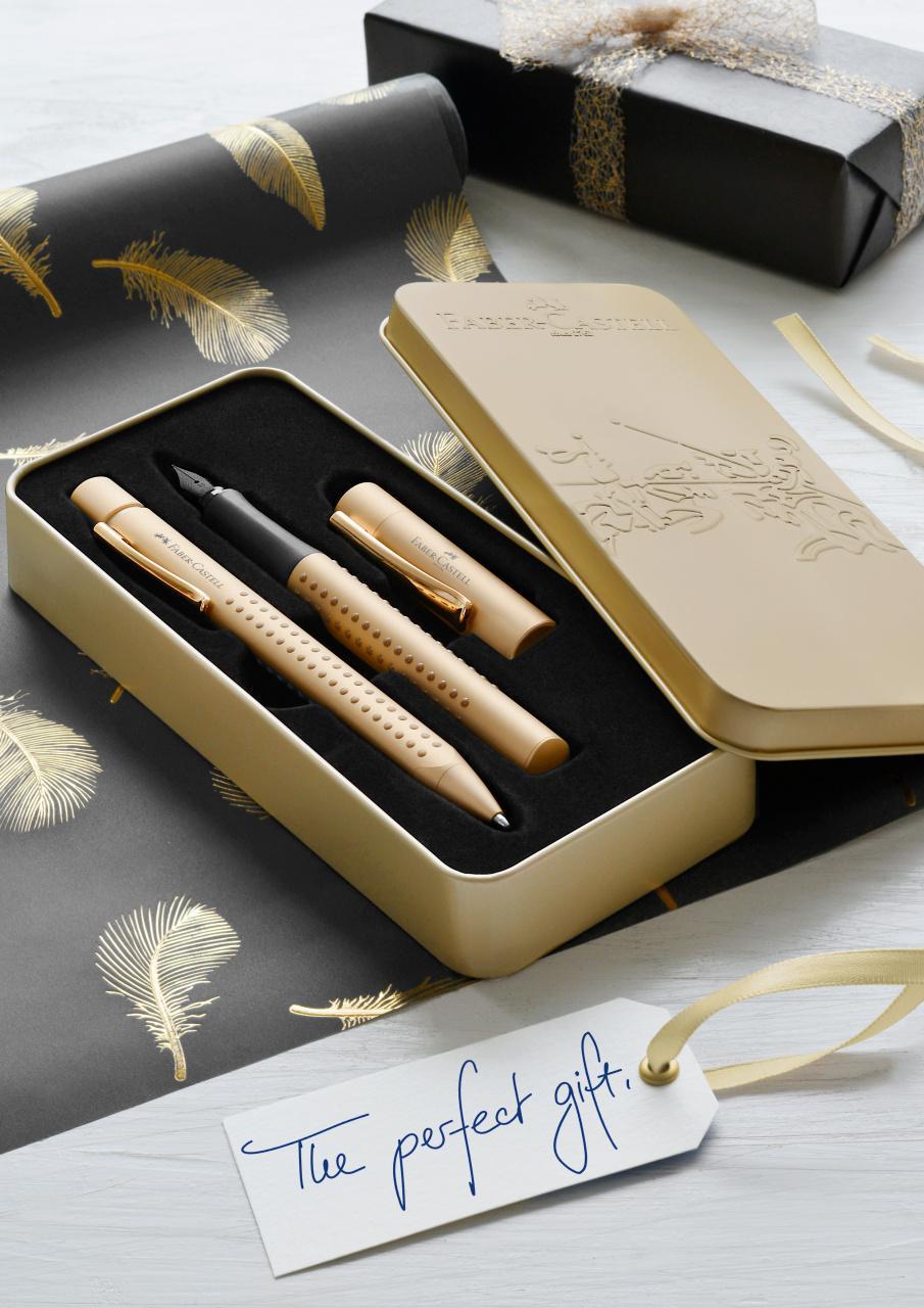 Faber-Castell Estuche Grip Edition Gold