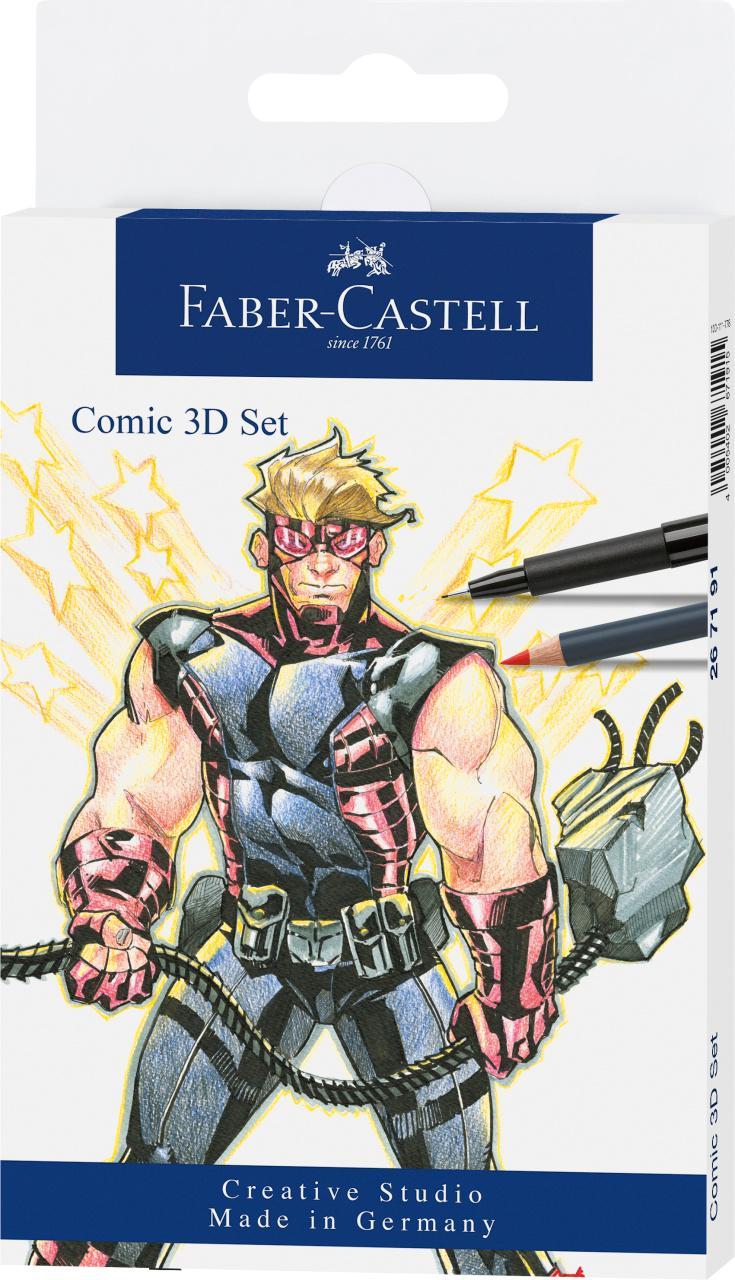 Faber-Castell Comic 3D Set