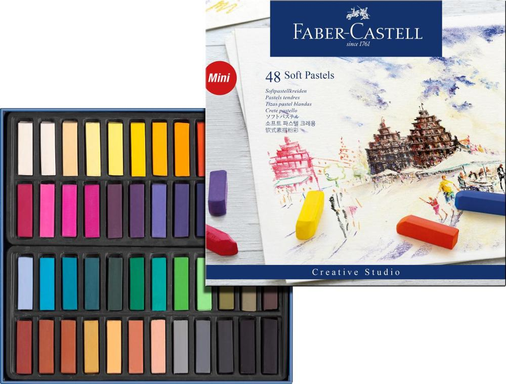 Faber-Castell 48 Soft Pastels