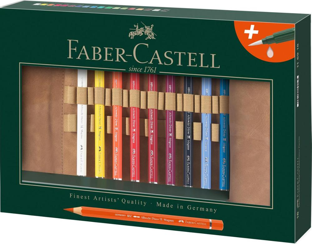 Faber-Castell Estuche Pencil Roll con Lápices de Colores