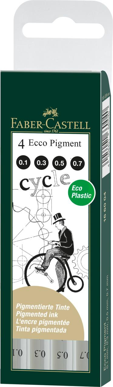 Faber-Castell 4 Ecco Pigment Cycle