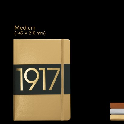 Leuchtturm1917 Libreta Medium Metallic