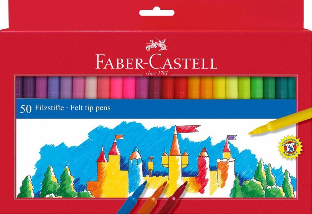 Faber-Castell Rotuladores 50 Unidades