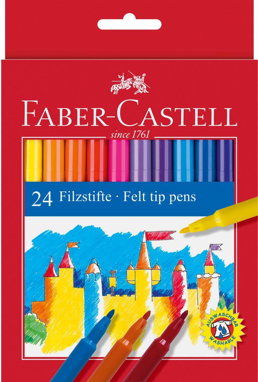 Faber-Castell Rotuladores 24 Unidades