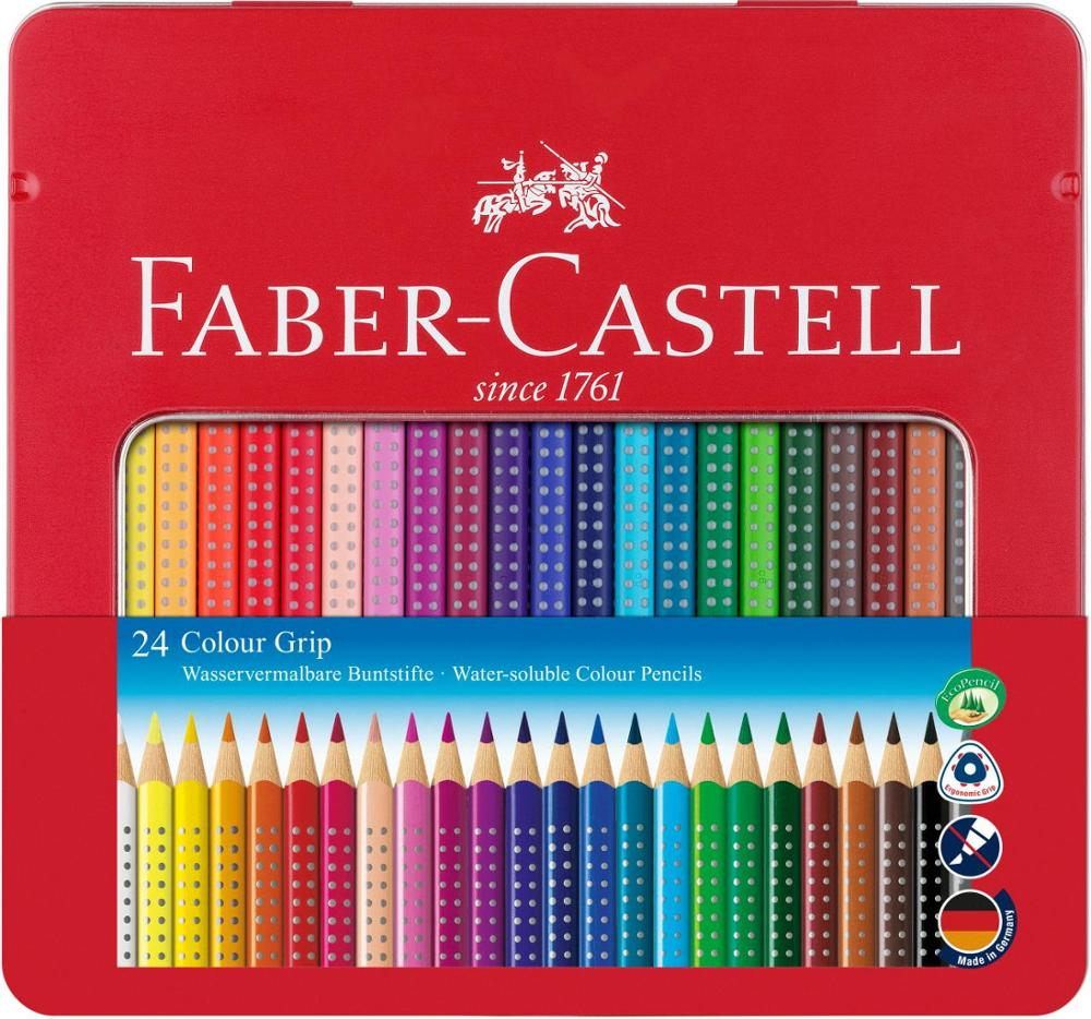 Faber-Castell Estuche Colour Grip 24