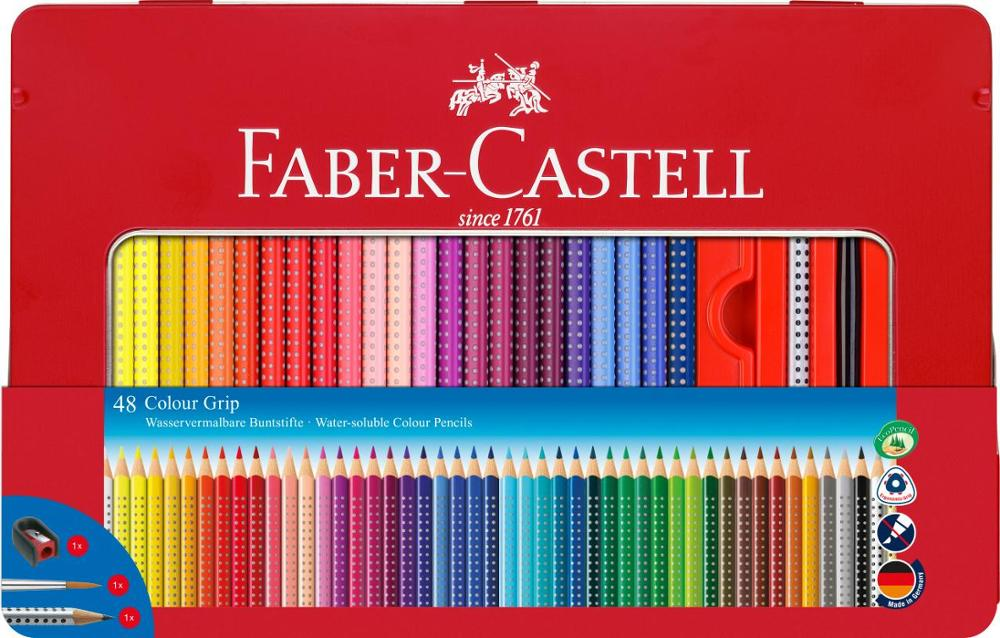 Faber-Castell Colour Grip 48 Unidades