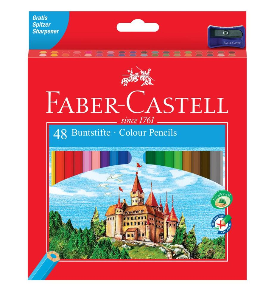 Faber-Castell Colour Pencils 48 Unidades