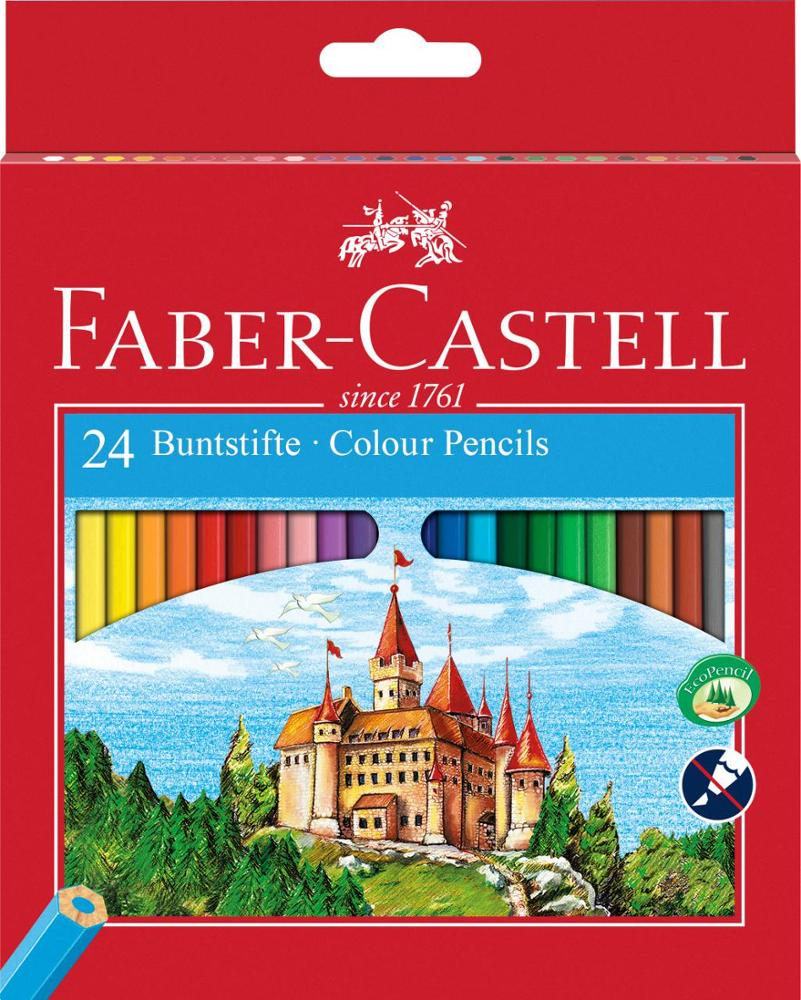 Faber-Castell Colour Pencils 24 Unidades