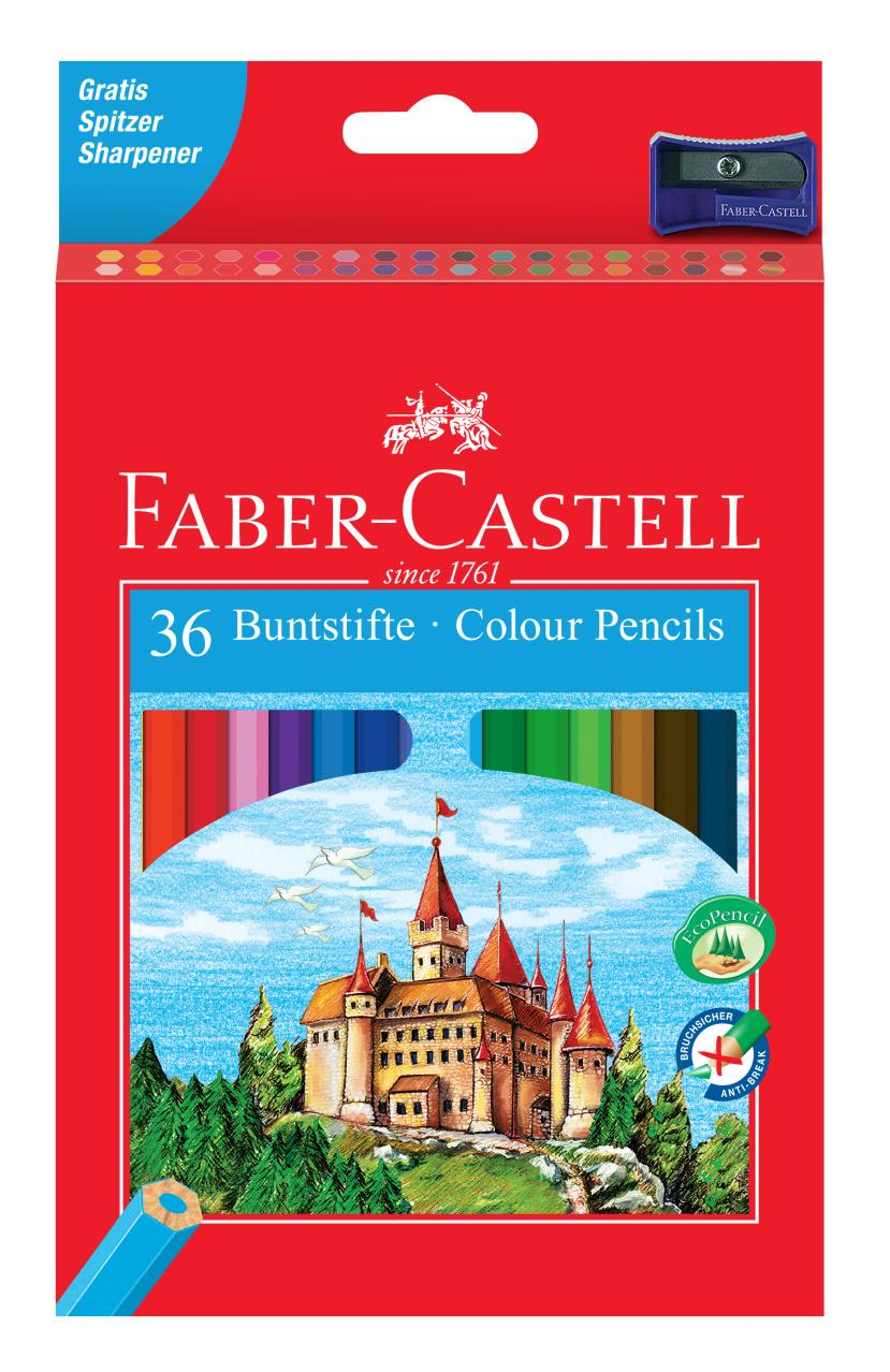 Faber-Castell Colour Pencils 36 Unidades