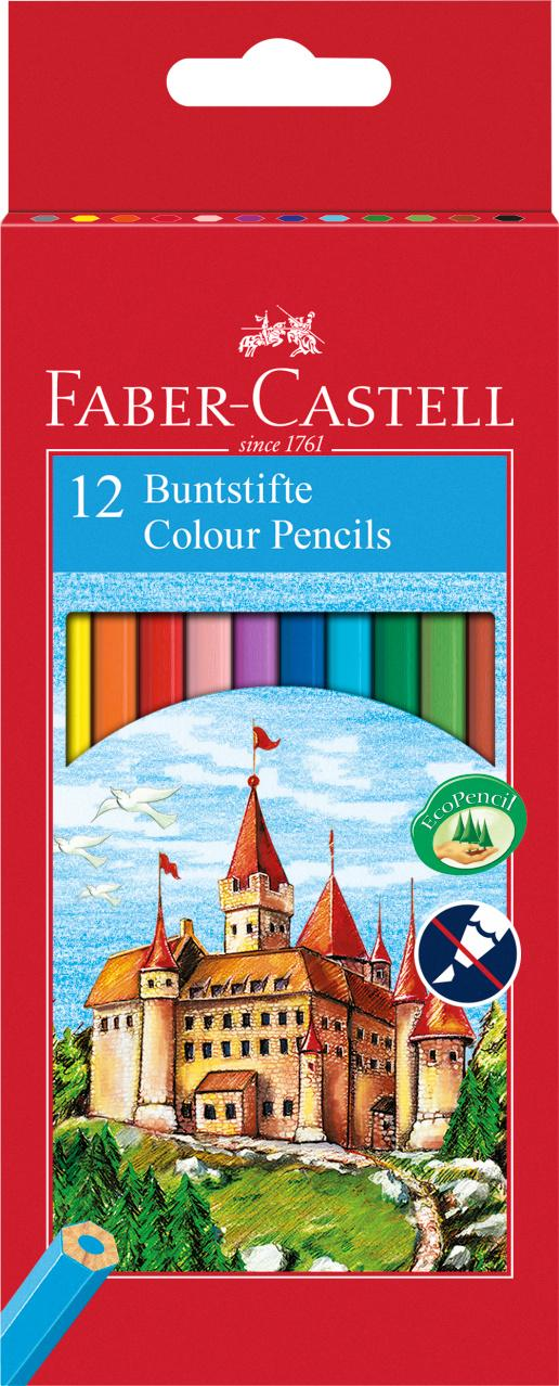 Faber-Castell Colour Pencils 12 Unidades