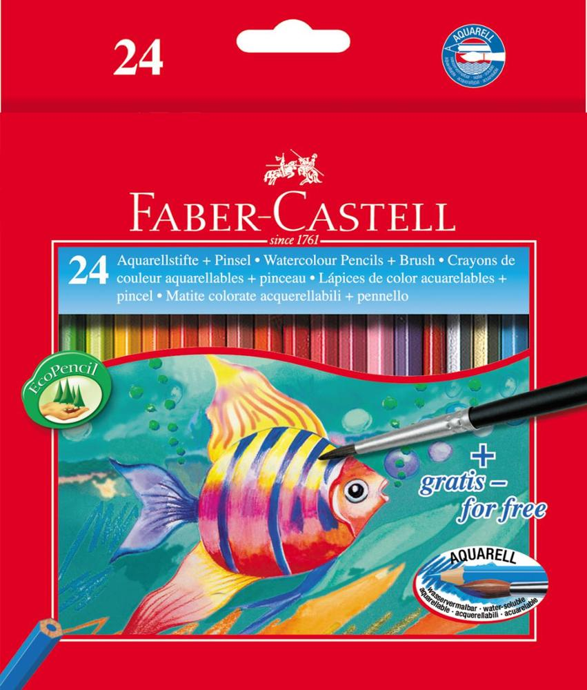 Faber-Castell Watercolour Pencils 24 Unidades