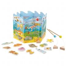 Goki Juego de Pesca por el Medioambiente