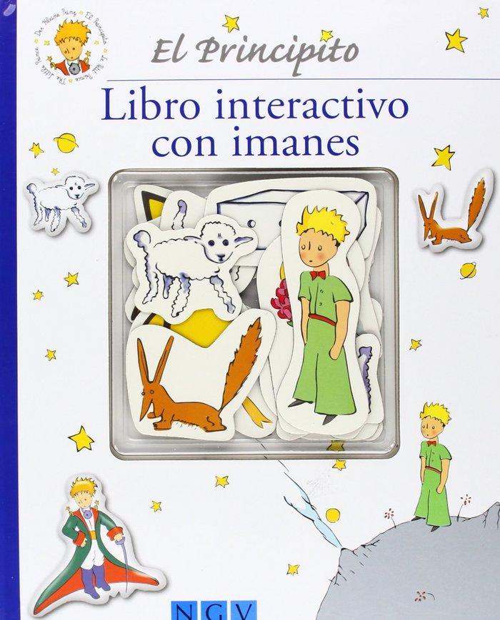 Editorial Saldaña El Principito Libro con Imanes