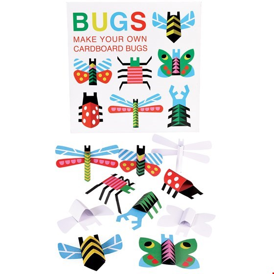REX LONDON Make Your Own Cardboard Bugs