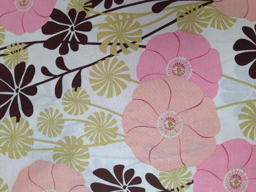 Algodón estampado Floral Pop