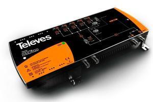 Televes Central Amplificadora DTKom MATV 3E/1S