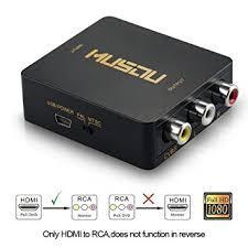 Musou Conversor HDMI a RCA AV
