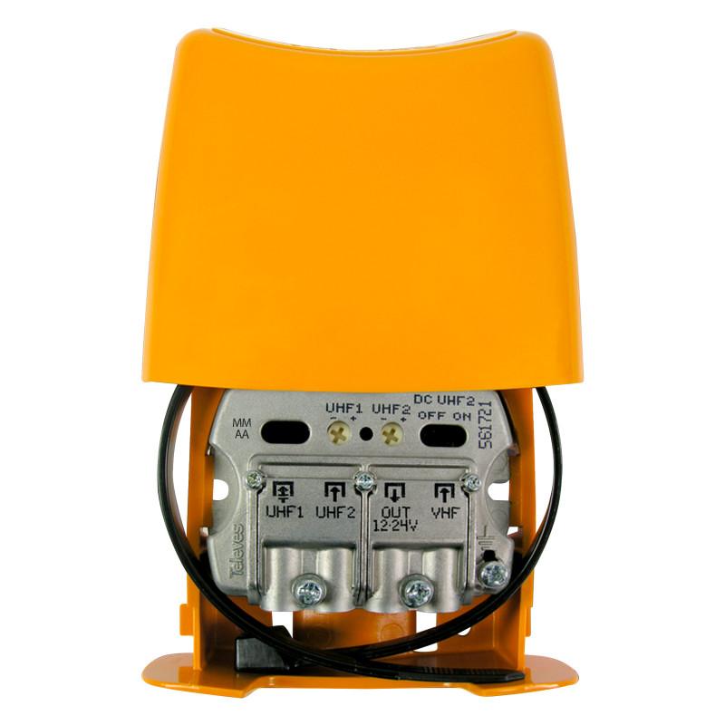 Televes Amplificador Mástil 26dB 3e UHF-UHF-Vmix LTE