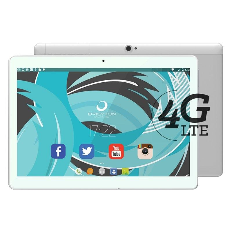 "Brigmton Tablet 10"" IPS HD 4G OCore 2GB RAM 32GB"