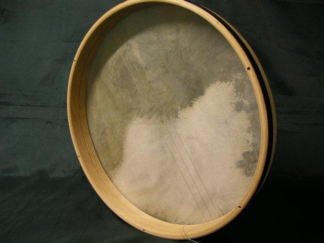 V.B. BENDIR  40 x 5 cm Parche Piel