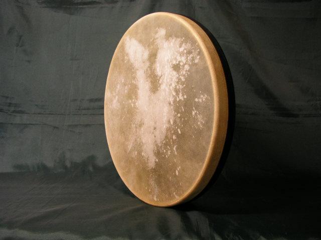 V.B. PANDERO 44 X 5  cm. Parche Piel