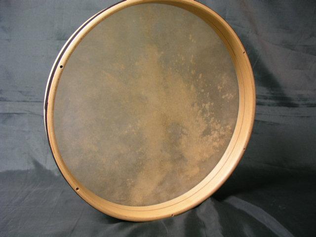 V.B. PANDERO 36 x 5 cm Parche Piel