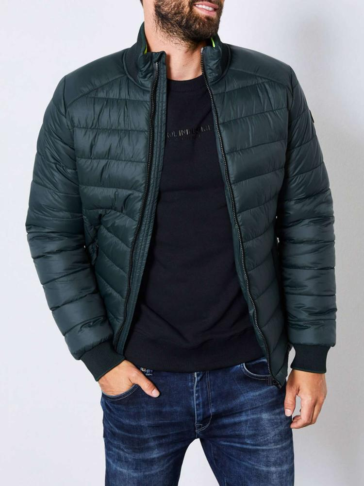 Petrol Industries Basic Quilted Jacket