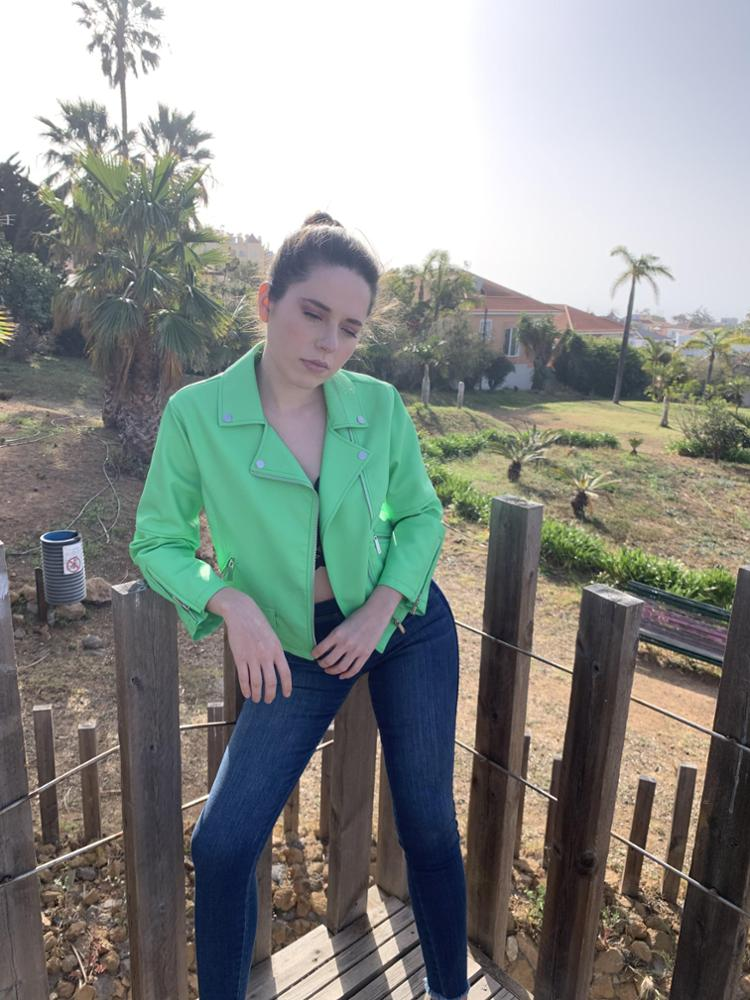 SH-Silvian Heach CAZADORA GREEN