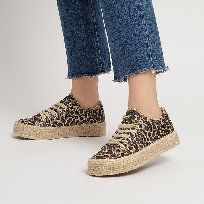 Break And Walk SNEAKERS MAUI LEOPARDO
