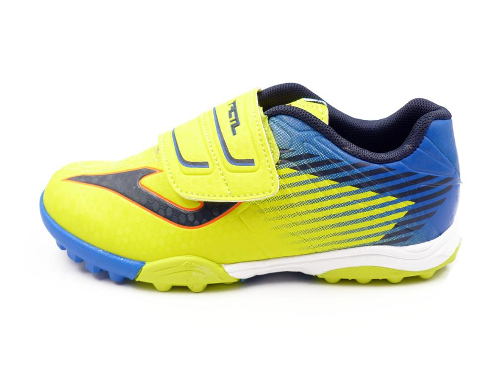 JOMA Zapatilla Futbol en piel fluor - tactil jr 811 fluor