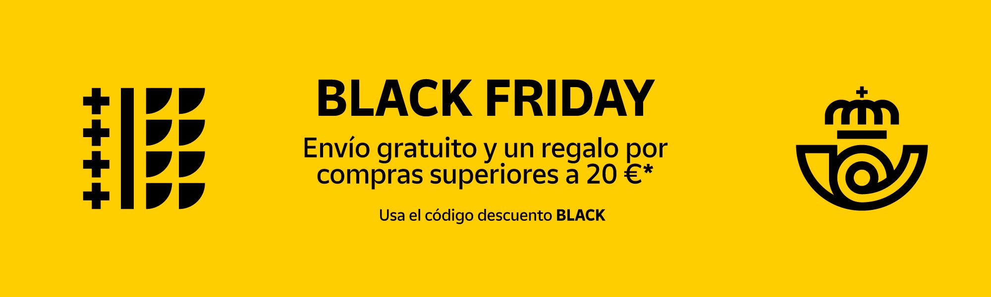 Banner Black Friday - Tienda Online de Correos