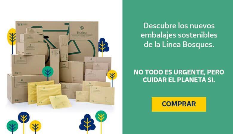 Banner Línea bosques - Tienda Online Correos