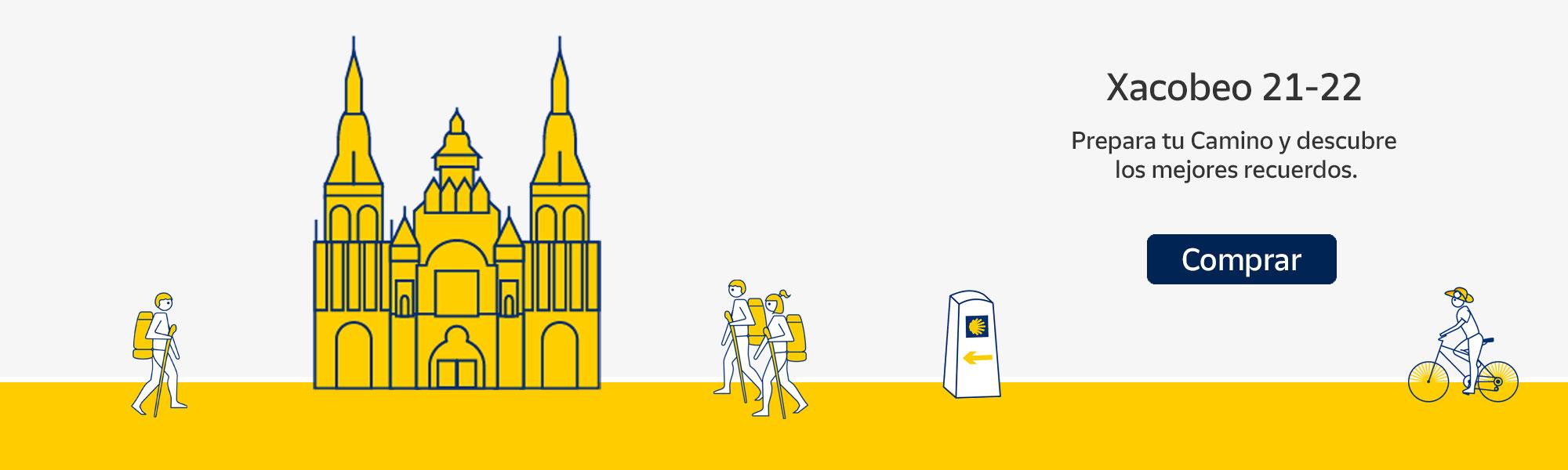 Banner Camino de Santiago 2021 - Tienda Online Correos