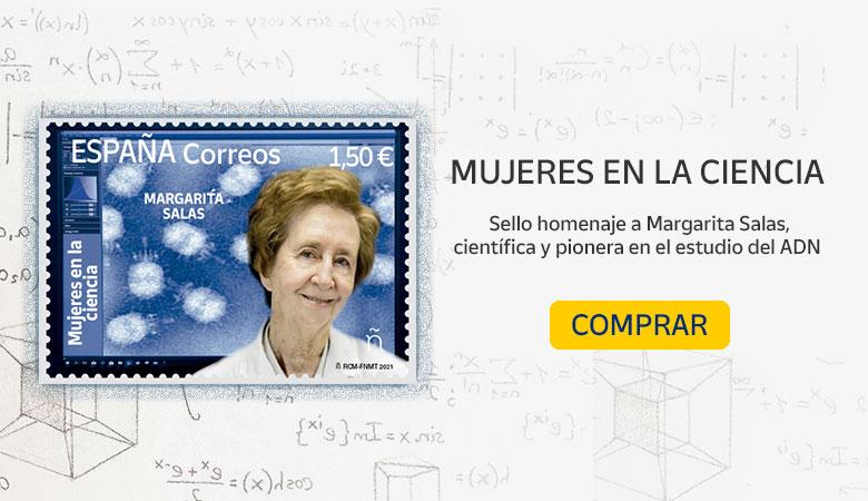 Sello homenaje a Margarita Salas - Tienda Online Correos