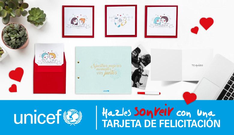 Banner solidario UNICEF  - Tienda Online Correos