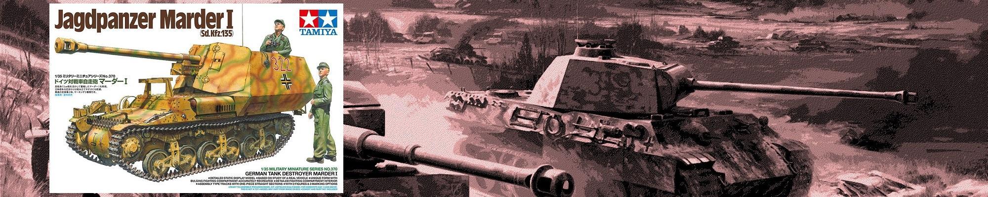 TAMIYA 35370 German Jagdpanzer 'Marder I'